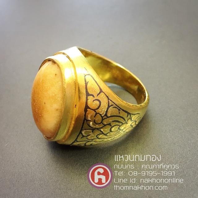 แหวนถมทอง เครื่องถมเมืองนคร แหวนมงคล